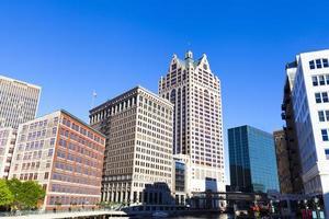 Innenstadt von Milwaukee foto