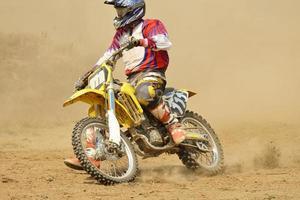 Motocross-Fahrrad foto