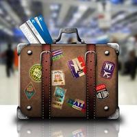 Tasche und Reise foto
