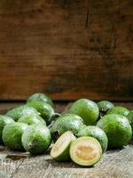 Scheiben frische Ananas Guave