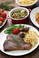 T-Bone-Steak foto