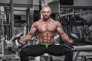 Ich bin Bodybuilder foto