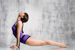 Yoga Frau foto