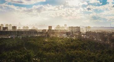 Kiew Sonnenuntergang foto