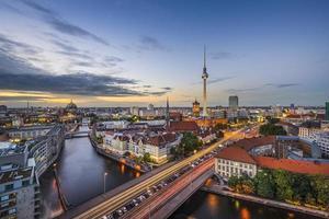 berlin, deutschland skyline foto