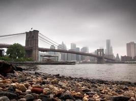 Skyline von New York City foto
