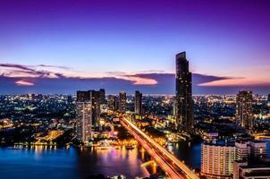Thailand Stadt foto