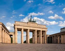brandenburger tor in berlin foto