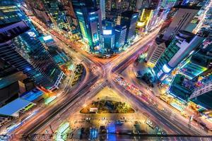 Seoul von oben foto