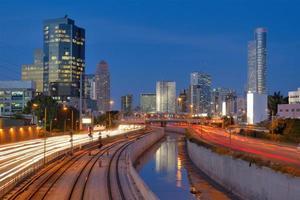 Tel Aviv Skyline foto