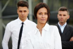 Gruppe von Geschäftsleuten. foto