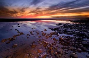 Allonby Sonnenuntergang foto