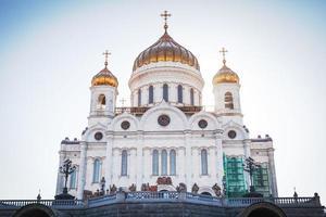 die Größe der Kathedrale von Christus dem Retter foto