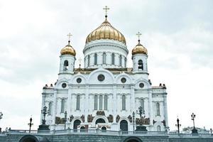 Kathedrale von Christus dem Retter, Moskau foto