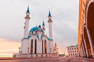 "Moschee ""Kul Sharif"" im Kazan Kreml, Tatarstan, Russland"