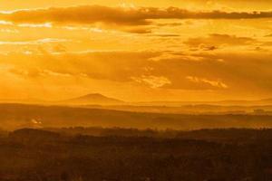 bunter Sonnenuntergangshimmel foto