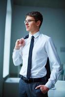 zeitgenössischer Geschäftsmann foto