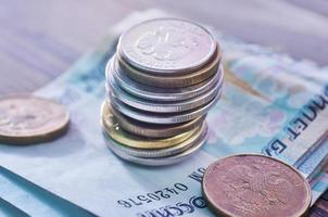 russisches Geld foto