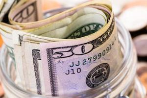 Geld sparen foto
