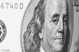 Geld. US Dollar foto