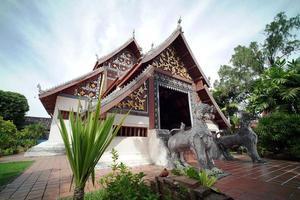 buddhistischer Tempel Wat Nong Bua, Provinz Nan, Nordthailand. foto