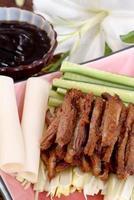 Thai Ente mit Sauce