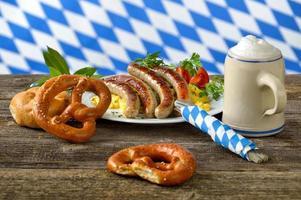 bayerisches Mittagessen foto
