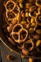 gewürzte Pub-Snack-Mischung foto