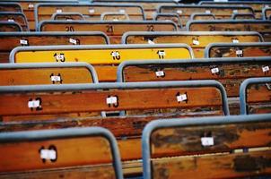 Auditorium Bänke foto