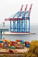 Containerkran foto