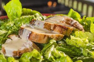 Hühnchen Caesars Salat