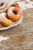 Donuts auf Teller foto