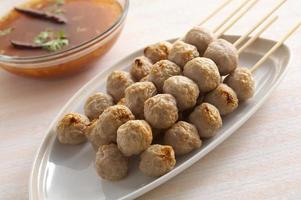 thailändisches Fleisch bal