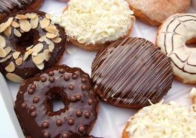 Satz Donuts in Box