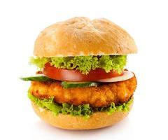 großer Hamburger foto
