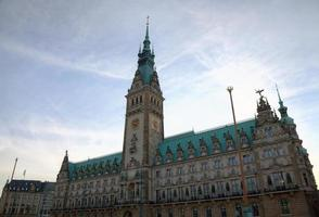 Rathaus von Hamburg, Deutschland foto