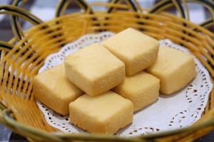 frittierter Tofu foto