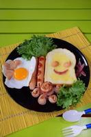 Frühstück für Kinder foto