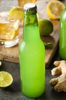 Bio-Ingwer-Ale-Soda foto