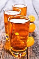 flüssige Orange foto