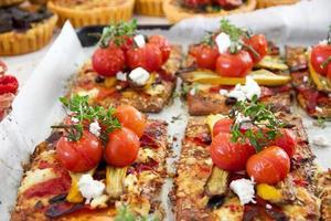 vegetarische Pizza foto