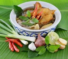 thailändische Suppe foto