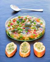 Minestrone-Suppe foto