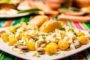 Bohnen und Käse foto
