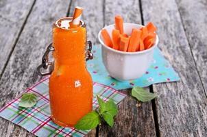 Karottensaft foto