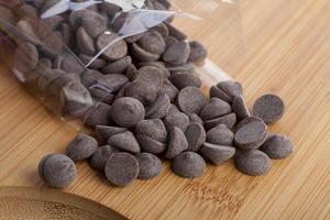 Schokoladenstückchen foto