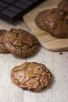 Heiße Kakaokekse foto
