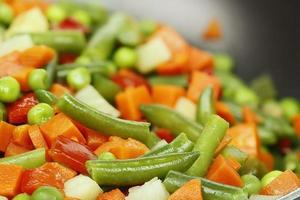 Gemüse kochen foto