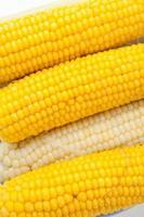 gekochter Mais foto