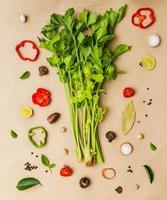 Gemüse zum Kochen.